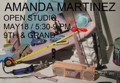 AMANDA MARTINEZ : OPEN STUDIO