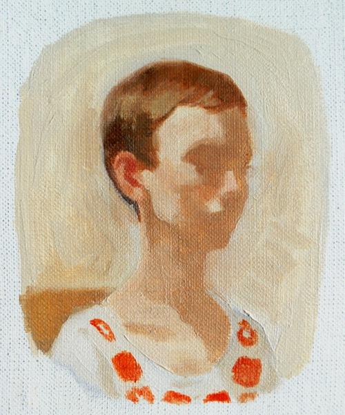 Rachel Gregor, Untitled Self Portrait